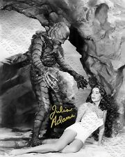 REPRINT 8x10 SIGNED AUTOGRAPHED PHOTO JULIA ADAMS CREATURE FROM THE BLACK LAGOON
