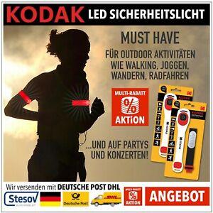 KODAK Sicherheit LED Light Licht Armband Radfahren Walking Jogging Laufen Wander