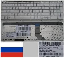 CLAVIER QWERTY RUSSE HP DV7-2000 UT5 AEUT5700030 9J.N0L82.S0R 570140-251 Blanc