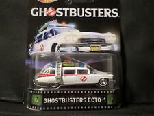 2016 HOT WHEELS RETRO TV SERIES GHOSTBUSTERS ECTO-1 HOTWHEELS HW WHITE VHTF