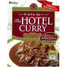HOUSE JAPAN RETORT FOOD THE HOTEL CURRY MELLOW MEDIUM HOT (180g x 10) BEEF