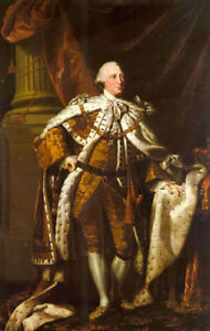 Dream-art oil painting figure Dance Nathaniel King George III standing canvas
