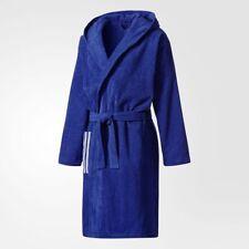 Adidas US Accappatoio Unisex – adulto Blu (tinmis/bianco) XS (i4e)
