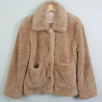LULU + ROSE | Womens Teddy Coat Jacket - Oversized [ Size XS or AU 8 or US 4 ]
