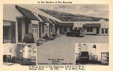 Linen Postcard Airway Center Motel in Billings, Montana~112333