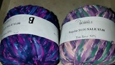 2 SKEINS/BALLS OF (DISC) CASCADE BOBBLE YARN ~ MULTI-COLOR #212  & #215
