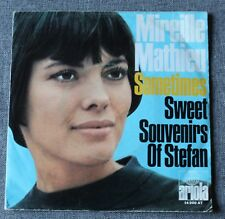 Mireille Mathieu, sometimes / sweet souvenirs of Stefan, SP - 45 tours import