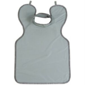 """LEAD ADULT APRON 0.3MM WITH COLLAR GREY PROTECTALL 24"""" x 36"""