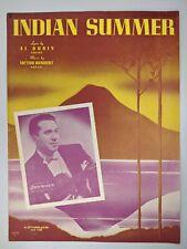 1939 Indian Summer by Victor Herbert Sheet Music Barry Winton M. Witmark Volcano