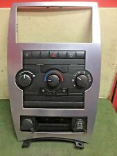 2008 Jeep Commander climate control info center Used OEM 55037979AA