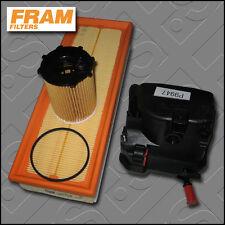 KIT di servizio PEUGEOT 207 CC 1.6 HDi FRAM olio aria filtri di carburante (2007-2009)