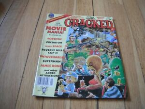 cracked comics 233, Jan '88