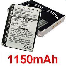 Batería 1150mAh Para Globalsat tipo 401-BTT LIN-331 Z300
