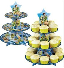 Disney Toy Story Party Tier Cake Stand & Cupcake Cases
