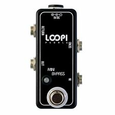 Mini Effects Loop Bypass Pedal - Guitar True Bypass - Loopi Pedals