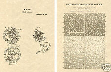 1st  PATENT of SEXTANT Art Print READY TO FRAME!!!!  Vintage 1856 Document sail