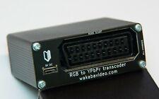 RGB SCART to YPbPr Component transcoder converter.