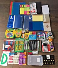 NEW Lot of School Office Supplies Pen Marker Pencil Highlighter Notebook 1088