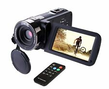 FHD Camcorder Night Vision 1080p Remote Control Infrared Camera Touch Screen