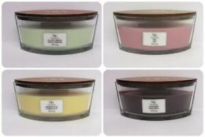 Woodwick Ellipse Candles with a Natural Wooden Wick