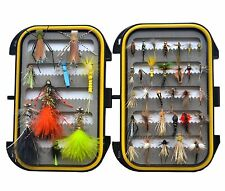 Must-have Dry Fly, Wet Fly, Nymph and Streamer Trout Fly Fishing Lure+fly box