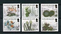 Falkland Islands 2016 MNH Endemic Plants 6v Set Flowers Stamps