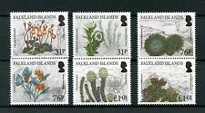 Falkland Islands 2016 MNH Endemic Plants 6v Set Flowers Stamps