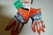 Fox Racing Dirt Paw Gloves Small  KTM Size Small