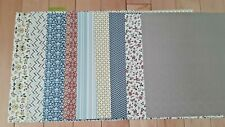 """Comfort Cafe, 9 Sheets, Stampin' Up! DPS 12 x 12"""" full sheets, view photo"""