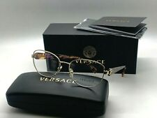 authentic VERSACE Womens Eyeglasses VE 1246B 1427 GOLD/CONFETTI 54-17-135MM NIB