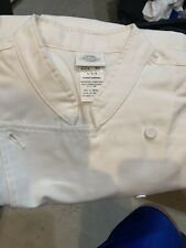 Dickies Covered Button Chef Coat Size Large