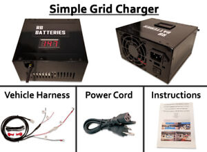 Grid Charger (Opt Discharge) 00 06 Honda Insight Restore IMA Battery Performance