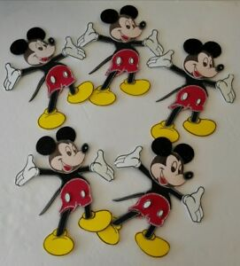 10pcs Mickey Mouse Foamy Decoration For Birthdays, Baby Shower Candy Table