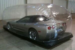 """Inflatable Car Cover Capsule Bubble for Indoor Use 120""""L x 72""""W x 60""""H"""