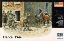MASTER Box 1/35 FRANCIA 1944 SOLDATI, suora e cavallo/carrello # 3578