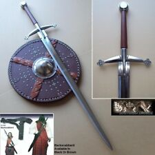 2 Handed Highland Claymore Sword Ideal for Stage, Costume & Re-enactment