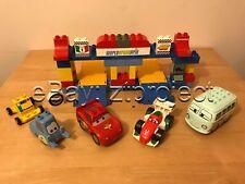 LEGO DUPLO Bundle Saetta McQueen Guido Francesco Fillmore AUTO