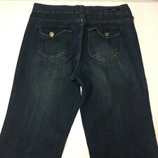 "Bogari Jeans Size 10 Women Straight Leg Stretch 30"" waist, 39"" length 30"" inseam"