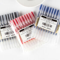 5pcs Muji Moma Japan 0.38mm/0.5mm Non-toxic Gel Ink Pen Blue/Black/Red