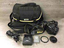 Nikon D3000 Digital Camera Point & Shoot Black