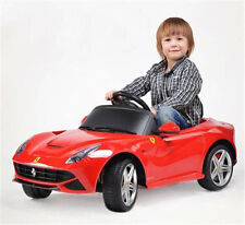 LICENSED FERRARI F12 BATTERY ELECTRIC RC RADIO REMOTE CONTROL CAR RIDE ON TOY