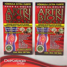2 ARTRIBION COMPLEX 100 TABS - FORMULA EXTRA FUERTE PARA EL DOLOR