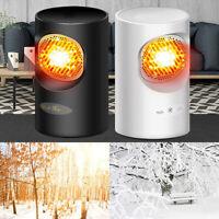 Mini Electric Heaters Fan Warmer Cooler Hot Fan Fast Heated Heating Desktop 220V