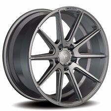 """Yido Performance YP1 Talia 10x20"""" 5x112 ET25 Audi A5 S5 RS5 B8 Matt Titan Grau"""