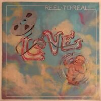 LOVE REEL TO REAL LP RSO UK 1974 NEAR MINT VINYL