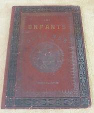 LES ENFANTS DE LA MER par OTOBIRAZ - LIBRAIRIE HATIER 1904