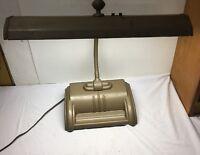 Vintage ACME Art Deco Metal Industrial Gooseneck Drafting Desk Lamp ~ WORKS