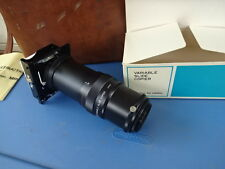 Prinz Variable Slide Copier Lens Made In Japan For 35mm SLR Cameras