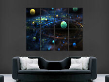 COSMOS SPACE IMAGE   LARGE  WALL PICTURE POSTER  GIANT HUGE ART