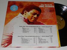 THE WORLD OF JOE SIMON 2 lps NM+ DJ Copy Original vinyl